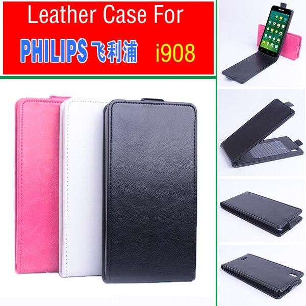 Téléphone cas pour Philips i908 Flip Business Style Housse Etui Shell.