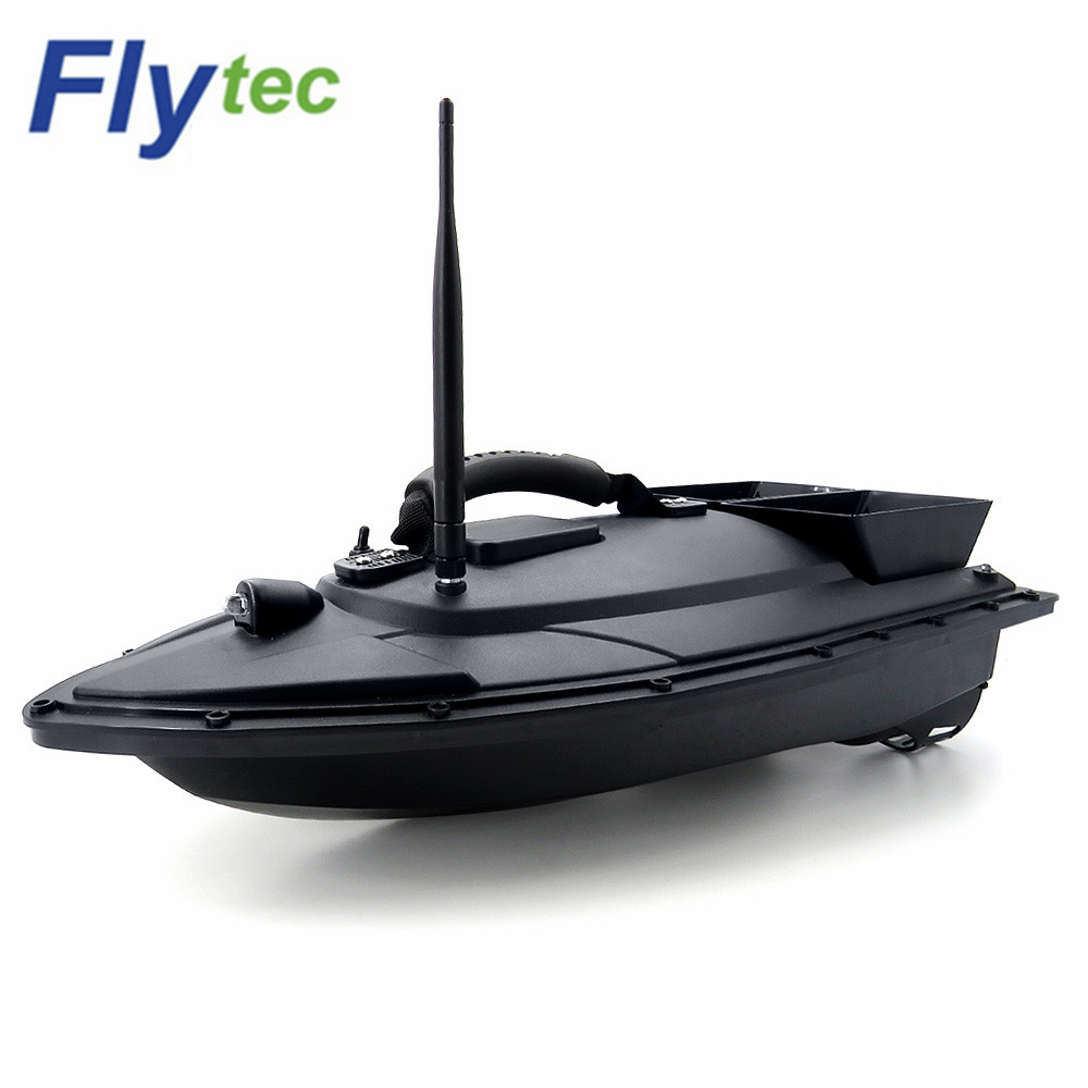 Flytec 2011-5 Fish Finder Fish Boat 1.5kg Loading 500m RCl Fishing Bait Boat 2011-15A RC Ship Speedboat RC Toys EU Plug