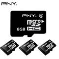 [PNY 100% Подлинный] Micro sd 8 ГБ 16 ГБ 32 ГБ Класс 10 Micro SDHC карты Мобильного Телефона TF Trans Компактные Флэш-Карты Памяти Class 4 8 ГБ