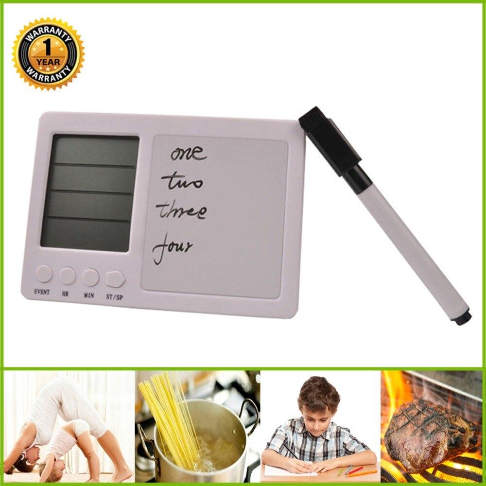 Digitale Küche Timer Lauter Alarm Timer Kochen Timer Große Led-anzeige Handschrift Labor Lernen Contest Kochen Schönheit Magne Küche Timer