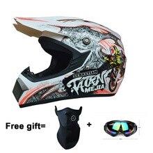 Motorcycles protective Gears Cross country motorcycle helmet bicycle racing motocross helmet