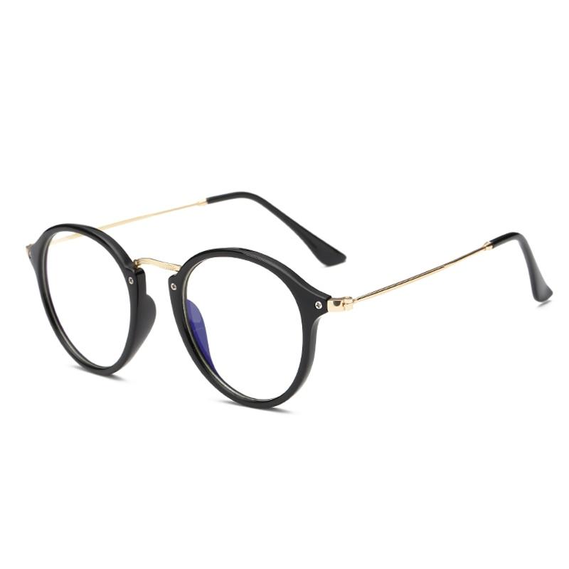 2018 fashion PC frame alloy anti blue light computer glasses men women coating film blocking ray from computer phone for gaming blue light blocking glasses