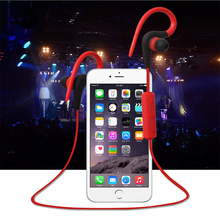 ФОТО ear hook bluetooth earphone 4.1 wireless sport running stereo in-ear earphone with microphone earphone for iphone for sumsang