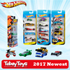 5 Pcs/Lot Hotwheels 1:64 Sport Car Set Metal Material Body Race Car Collection Alloy Car Gift For Kid Hot Wheels 1806