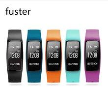 Фустер IP67 Водонепроницаемый Bluetooth Фитнес смарт-браслет сердечного ритма трекер с USB Зарядное устройство непосредственно Smart Band