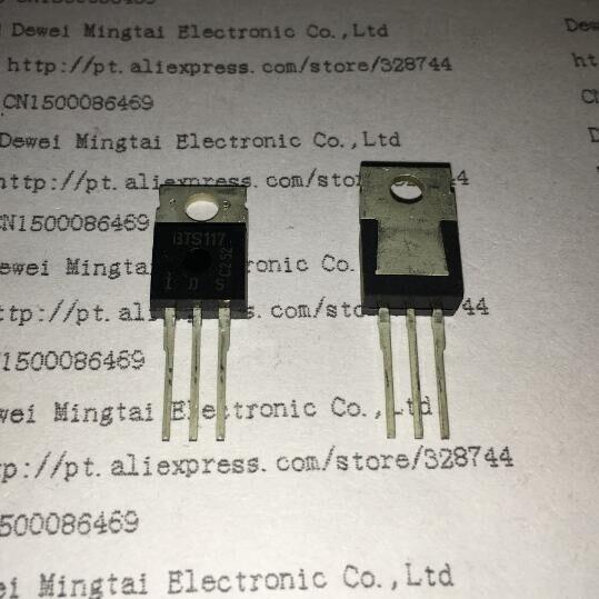 d8f8b36665 ≧5 PCS-50 PÇS LOTE BTS117 117 TO220 - a169
