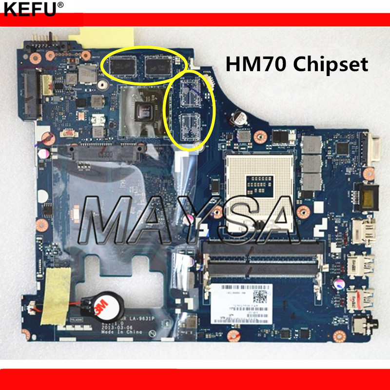 VIWGP/GR LA-9631P REV:1.0 Mainboard Fit For Lenovo G500 Laptop Motherboard With 4 Video Memories , 100% Working