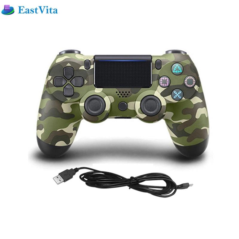 Console Per PS4 USB Connessione Cablata Gioco Gamepad Controller 8 colori 2.4 GHz Per SIXAXIS Playstation 4 gioco di Controllo Joystick r