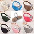 Hot Fashion Winter Warm Knitted Earmuffs Ear Warmers Women Girls Ear Muffs Earlap Warmer Headband H9