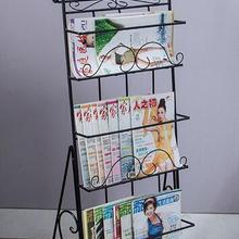 Металлическая журнальная стойка книги пол Стальная Полка Стерео креативная полка для рекламного дисплея