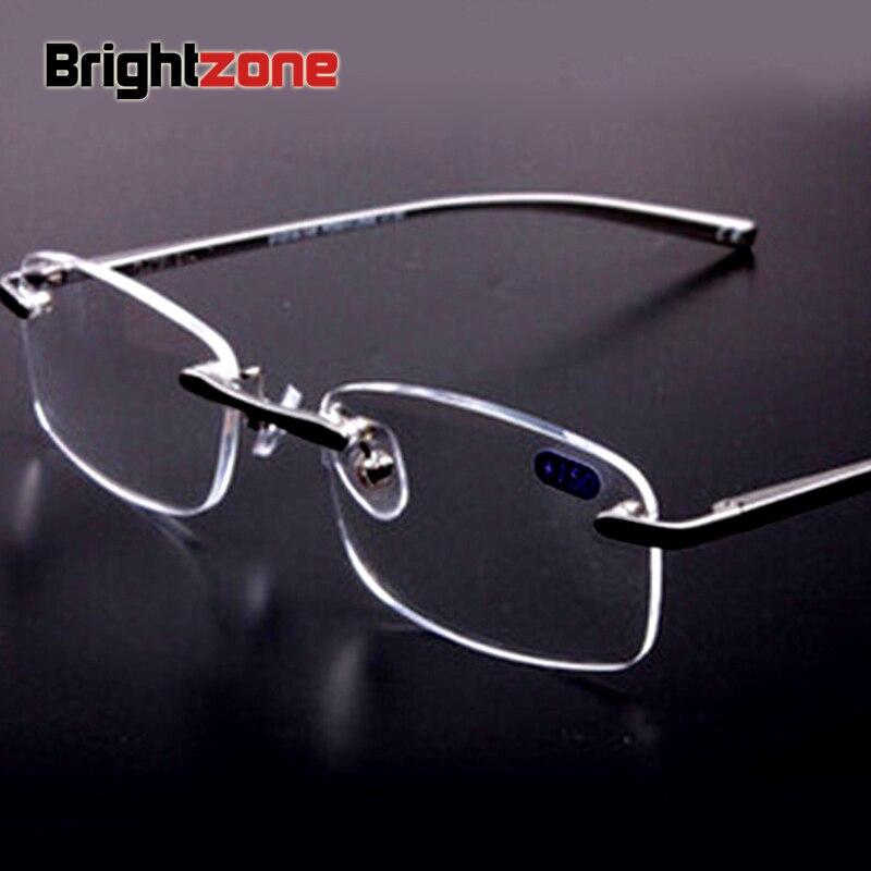 bf6479642de0c6 ᗐMarque hommes et femmes en alliage d aluminium lumière lunettes de ...