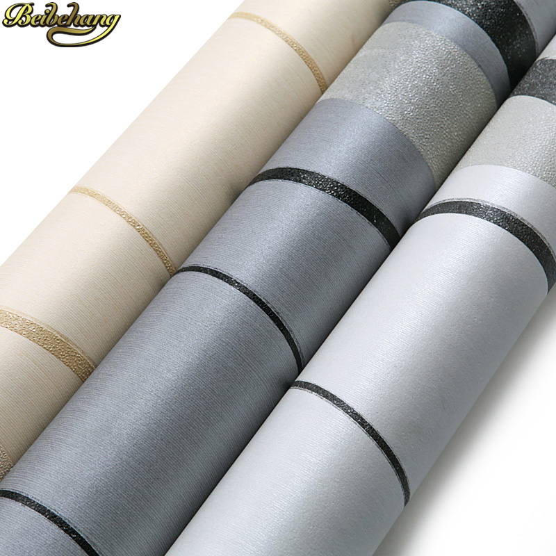 Beibehang papier peint Noir Pivotantes Courbes Cercles Neutre géométrique papier peint 3d rouleau de papier peint papier peint pvc pour salon