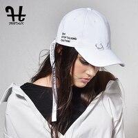 Furtalk Thời Trang có cấu trúc Cotton Baseball Cap Điều Chỉnh Hat Đồng Bằng Thêu Điều Chỉnh Hip Hop Cha Snapback Hat