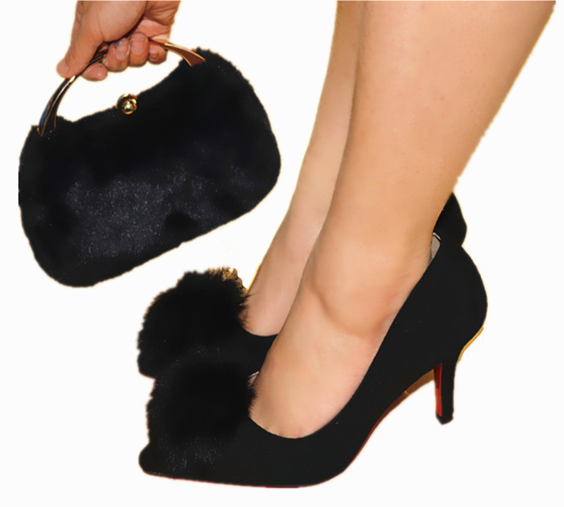 Hot Artist Fashion Italian Ball Top Woman Shoes And Evening Bag Set For Party High Quality Pumps Shoes And Bag Set TX-16812 italian visual phrase book