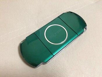 Repuestos para consolas de juegos cubierta de cobertura completa con botones, de color verde, blanco, colores negros para PSP3000 PSP 3000, versión antigua