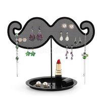 Beard Shape Earrings Ear Stud Hanging Display Stand Rack Holder Organizer