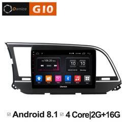 Quad 4 Core 2 ГБ Оперативная память + 16 ГБ Встроенная память 9 дюймов Android 8,1 радио для hyundai Elantra 2016 автомобиля dvd-плеер gps навигации стерео BT 4 г WI-FI