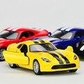 KINSMART 1:36 Эмуляции Сплава Автомобиля Игрушки, литья под давлением Металл Спортивный Автомобиль, вытяните Назад, двери Открывающиеся Игрушечный Автомобиль