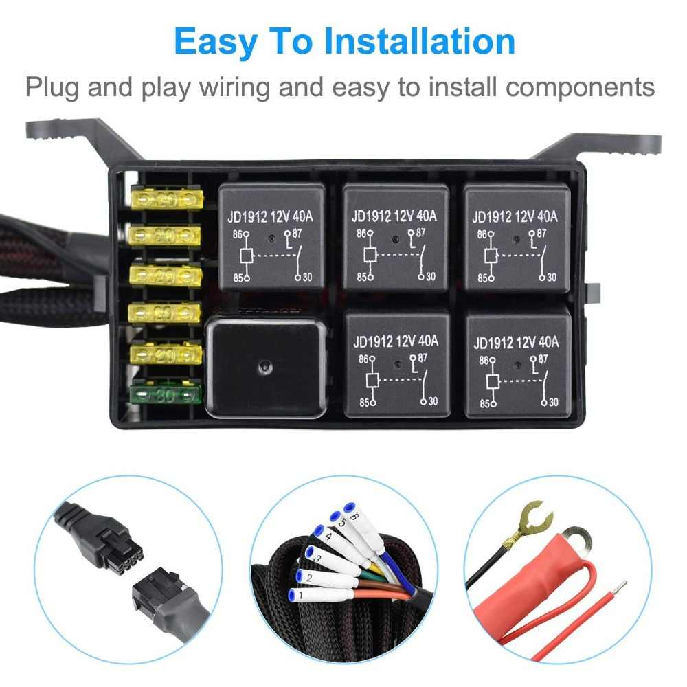 Universal 6 Gang Switch Panel 12V Relay System Control Box ... on boat fuel cap, boat fuel gauge, boat dash panel, boat battery box, boat radio fuses, boat fire extinguisher box, boat engine, boat speed sensor, boat fuel line, boat bench seat with storage, boat throttle cable, boat wiring diagrams showing fuses, boat electrical wiring, boat kill switch, boat running light wiring diagram, boat electrical box, boat pump box, boat radio wiring, boat speaker, boat seat box,