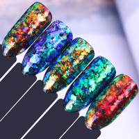 5 Colors Irregular Chameleon Glitter Sequins Set Cloud Powder Flakes Paillette Kit BORN PRETTY Nail Art