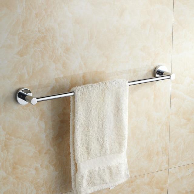 Handtuchhalter Für Bad wand hängen silber messing bad handtuch handtuch stange bad hardware
