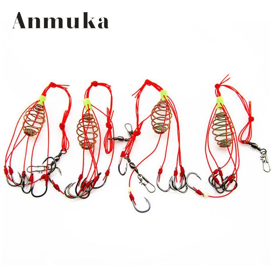 Anmuka 4pcs/lot High Quality Capture off Ability Fishing Hook Explosion HookFishing Tackle Fishing 31025
