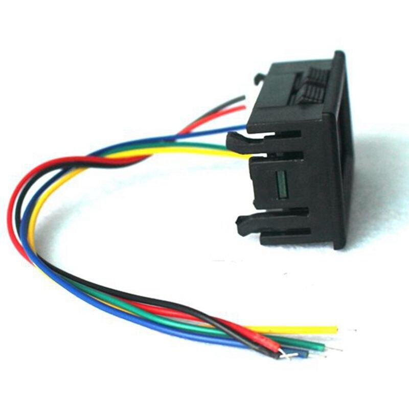 Red Digital Voltmeter Ammeter DC 0 100V 100A Voltage and Current Testers Ampere Meter Car Motor kicker l7 subwoofer wiring diagram polskaweb wiring diagram essig