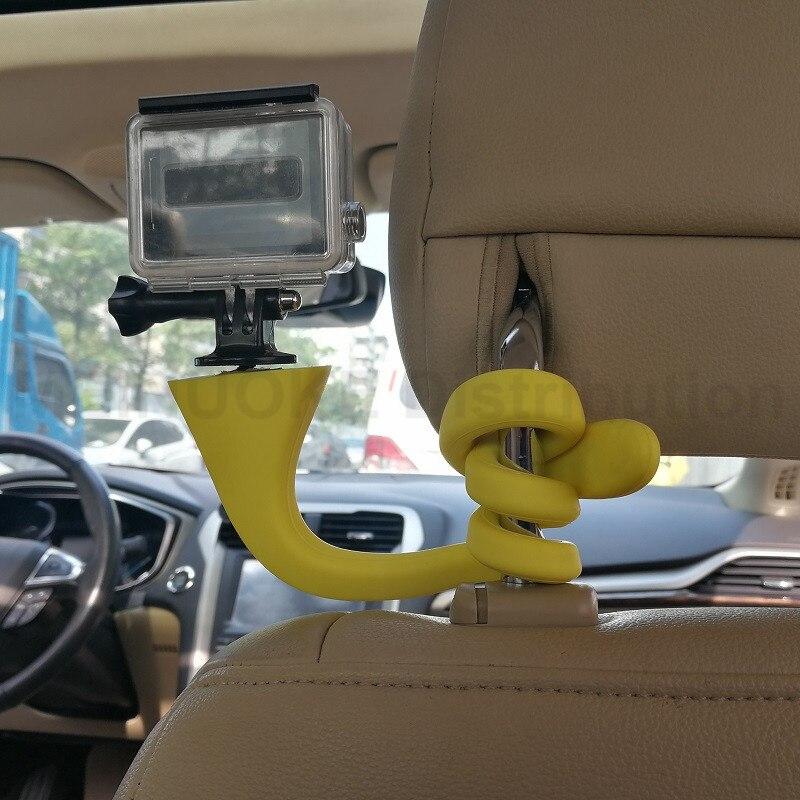 Gekkopod Mini Camera Tripod Mount Banana Pod for Gopro Xiao Mi Yi SJ4000 action camera for