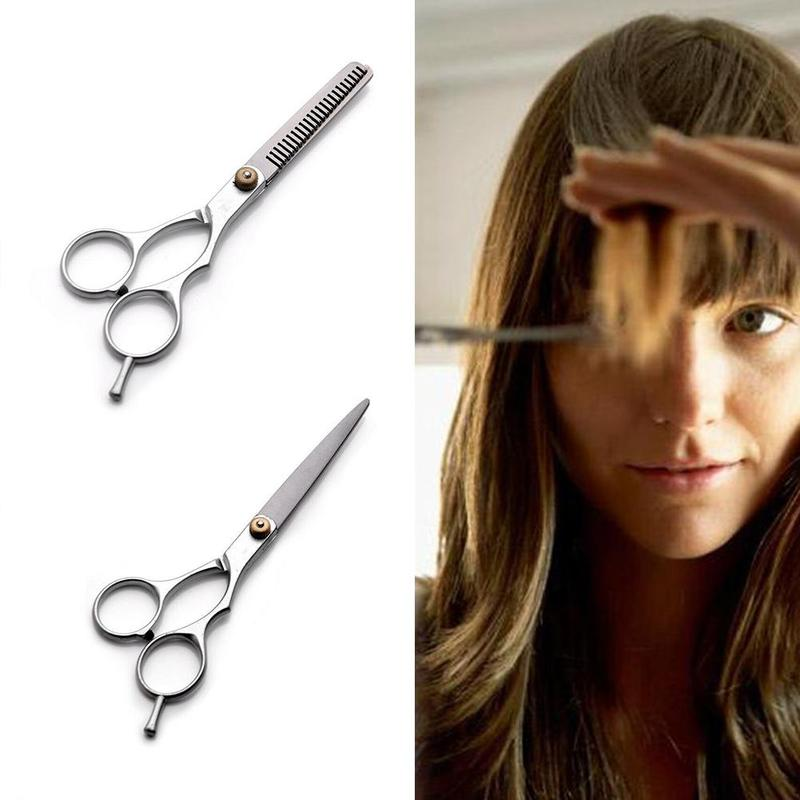 Professional 6 Inch Salon Cutting Thinning Scissor Hair Scissors Cut Hair Makas Barber Thinning Shears Hairdressing Scissors