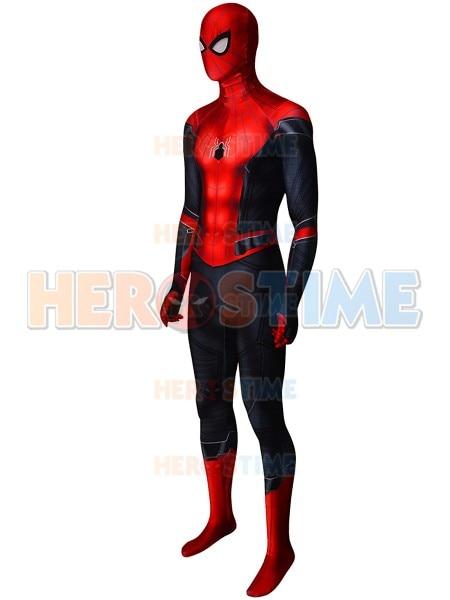 Aliexpress.com  Comprar 3D imprimir más lejos de casa de Spiderman traje de  Lycra Spandex hombre araña traje de superhéroe para adultos niños de hecho  envío ... 7a8eea296c73