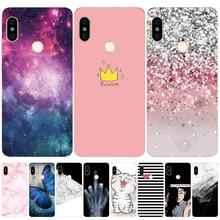 Silicone Case For Xiaomi Redmi Note 5 Case 5.99' Print Cute Cat Cover Phone Cases for Xiomi Redmi note 5 note5 pro fundas Coque