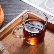 Креативная стеклянная чашка с двойным горлышком высокая термостойкость Прозрачная Круглая Бытовая Посуда для напитков молока кофе
