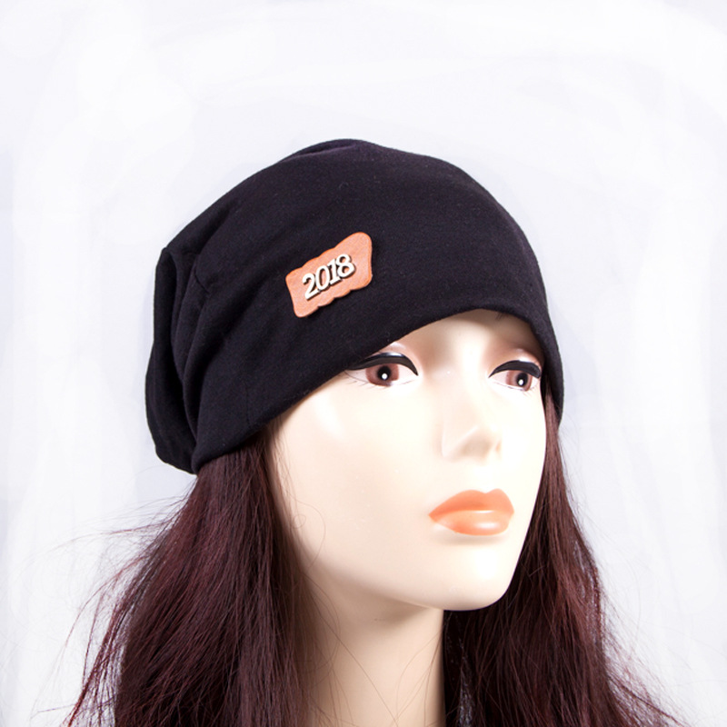 Knitted Hat Beanies-Accessories Pile-Cap Outdoor Winter Fashion Women New Standard Adult