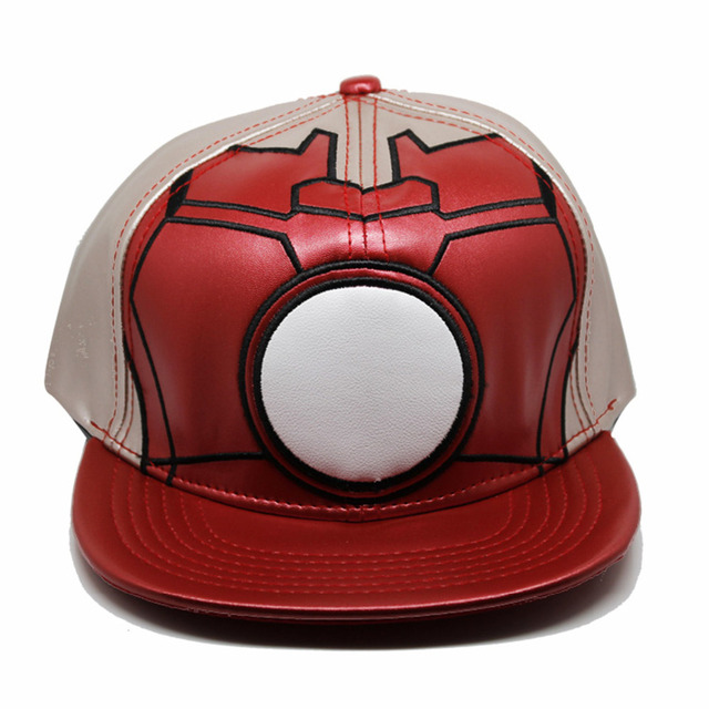 99011b397 Star Wars Cosplay pu leather Cap Novelty Super hero Hats cartoon ladies  dress mans Hat charms Costume Props blue Baseball cap-in Baseball Caps from  ...