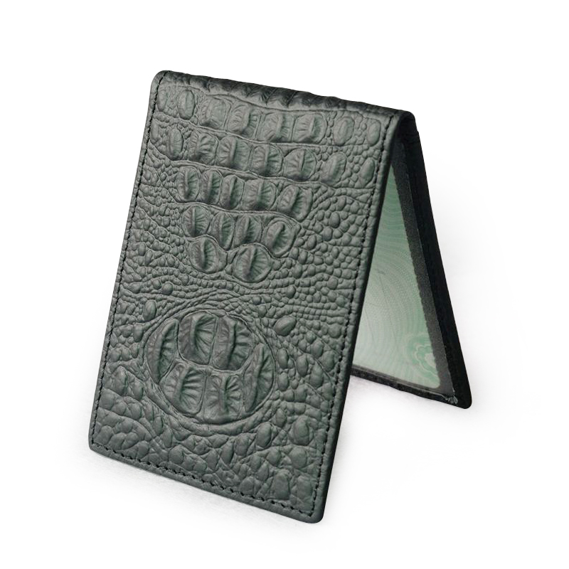 YIFANGZHE Ultimate Slim Mini Magic Wallets Front Pocket Minimalist Wallet Bifold 100% Genuine Leather Card Holder