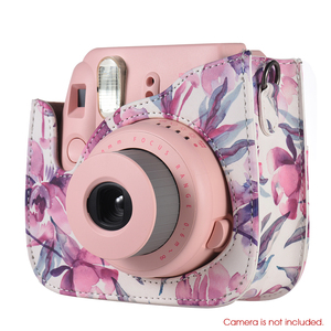 Image 2 - Andoer Camera Bag Case voor Fujifilm Instax Mini 9 Mini 8 Mini 8 + Mini8s Mini 8 Instant Film foto Camera PU Case Cover