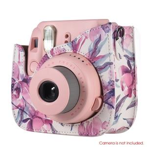 Image 2 - Andoer מצלמה תיק Case כיסוי עבור Fujifilm Instax מיני 9 מיני 8 מיני 8 + Mini8s מיני 8 מיידי סרט תמונה מצלמה PU מקרה כיסוי