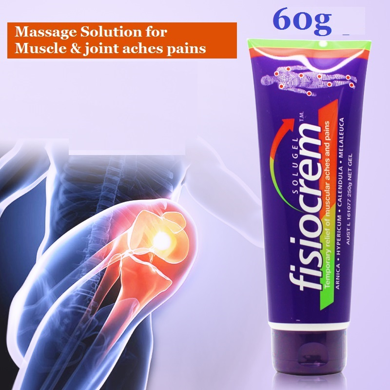 Fisiocrem 60g Muscle & joint aches pains massage Solution bumps bruises Gel Relief of muscle joints pain Back pain relief cream 4oz joint and muscle pain relief cream reliefx by naturo sciences natural joint pain relief breakthrough that relieves arthritis pain fast topical cream naturally rubs away daily aches associated with neck shoulder and back pain formulated with ar
