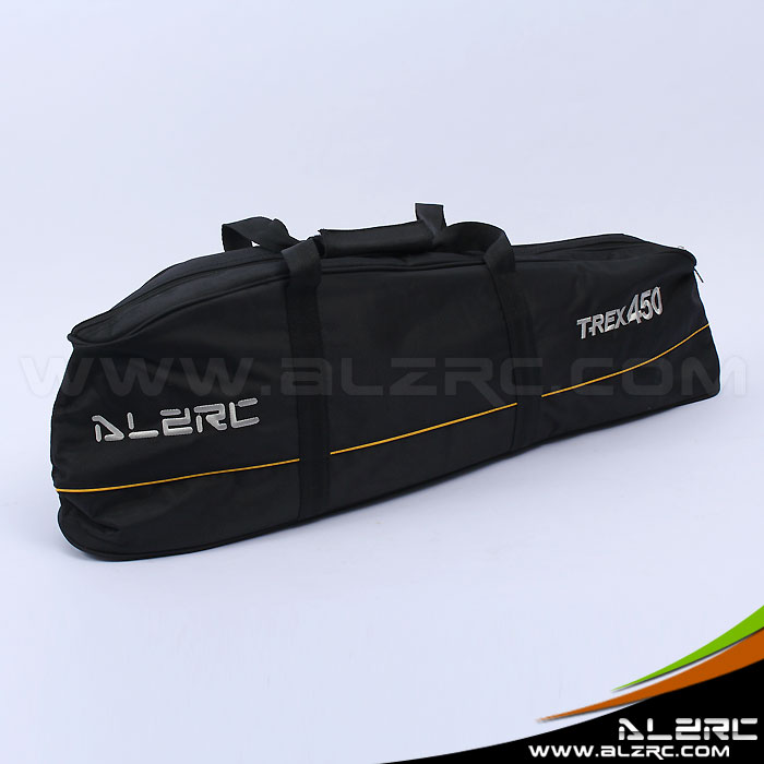 Free Shipping ALZRC - Devil 450 New Carry Bag - Black alzrc devil 505 fast rc helicopter kit cnc metal free shipping