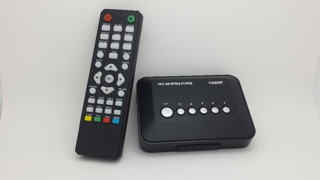 JEDX MP018 Car 3D Full HD 1080P HDD HDMI Media Player IR Remote control AV MKV H.264 RM  SD USB HDD With Car adapter