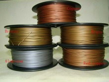 Hot saling Reprap 3d printer 1.75mm filament Metal Consumable Material for MakerBot/RepRap/UP