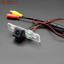 BigBigRoad Car Rear View Backup Parking CCD Camera For Ford Fiesta ST Classic Ikon 2002 - 2008 Mustang GT / CS 2005-2014