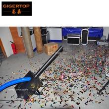 TIPTOP TP T184 1800W Confetti Blower Mini Size Angle Adjustable Bracket Handhold Blower Confetti Machine High speed Suck Fan