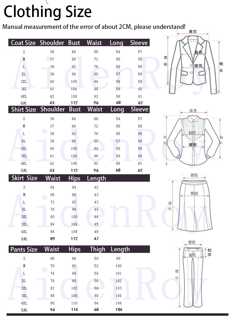 Hot Ladies Dress Suit for Work Full Sleeve Blazer Sleeveless Dress 2 Pieces Set 15