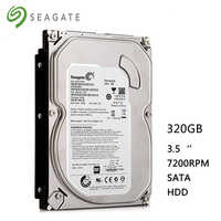 "Seagate 320 GB desktop-computer 3,5 ""interne mechanische festplatte SATA 3-6 Gb/s festplatte 7200 RPM 8 MB-32 MB buffer kostenloser versand"