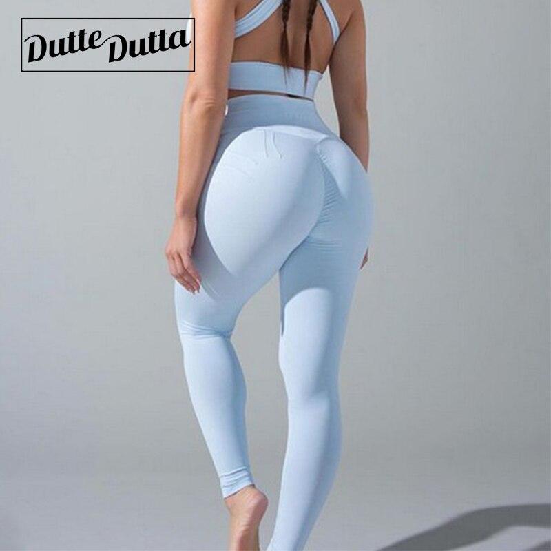 Yoga Pants High Waist Leggins Sport Sports Wear For Women Gym Fitness Leggings Booty Scrunch Sportswear Tights Push Up Yoga Pants Yoga