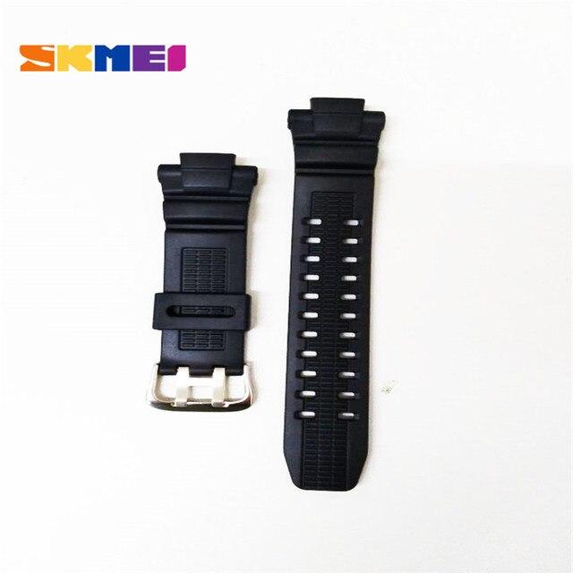 Часы Skmei ремешок пластиковые резиновые ремешки для различных моделей ремешки для часов 1025 1068 0931 1016 1019 1251 ремешок Skmei