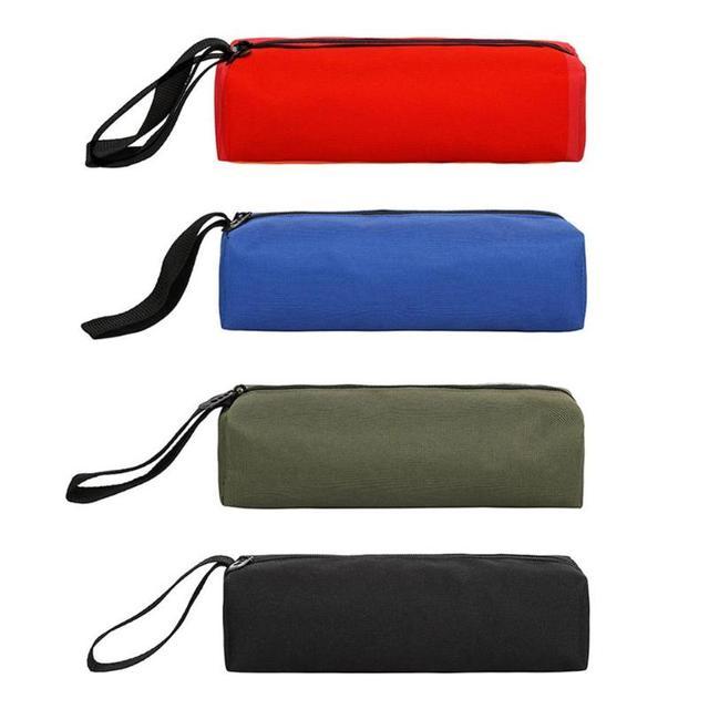 Electrician Oxford Tools Bag Handbag Zipper Repair Drill Organizer Pouch Household Portable Hand Storage