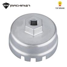 64.5mm Aluminum Oil Filter Wrench Cap Socket Remover Tool for Lexus Toyota Lexus Corolla Highlander RAV4 Camry Universal Housing