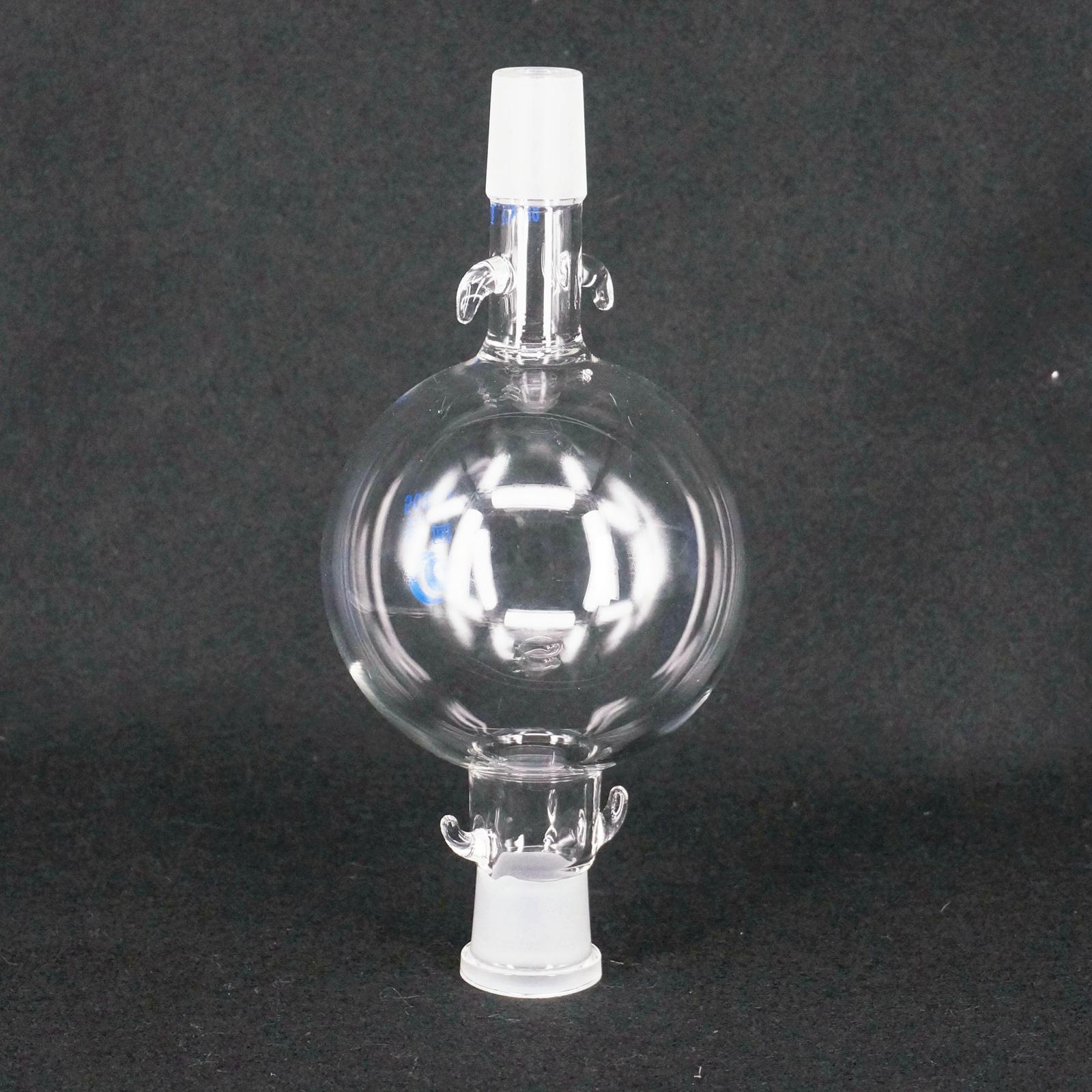 500ml Laboratory Glass Chromatography Solvent Reservoir Ball 24/29 Joint